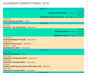 Calendar competitional