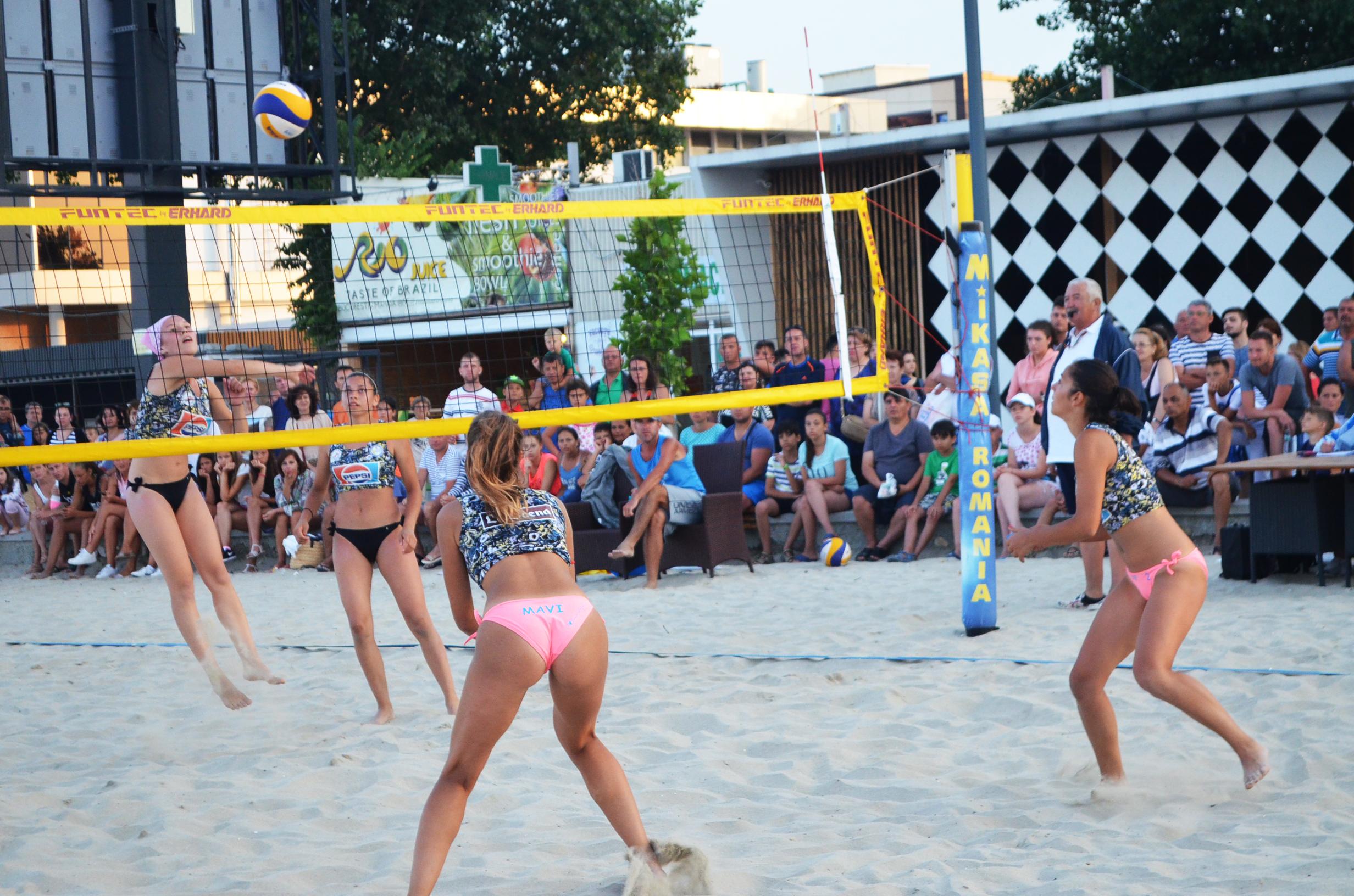 beachvolleyball mamaia final