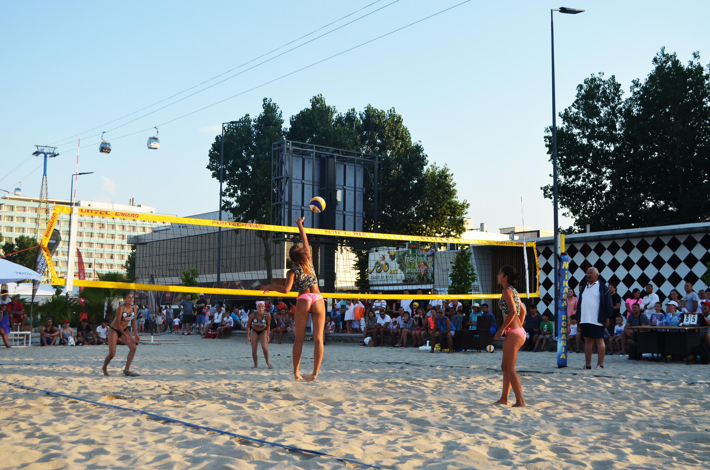 beachvolleyball mamaia