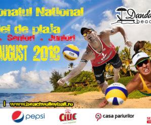 Campionatele Nationale de Volei de Plaja – 13-23 august 2018
