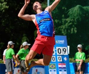 Fotbalistul croat Ivan Perisic, jucător profesionist de beachvolleyball